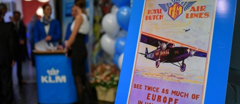 We have organized event for 100 years of KLM ROYAL DUTCH AIRLINES