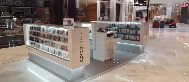 Expanze EPICO v obchodních centrech
