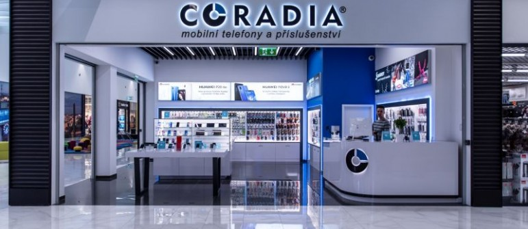 Exclusive representation of the Coradia company