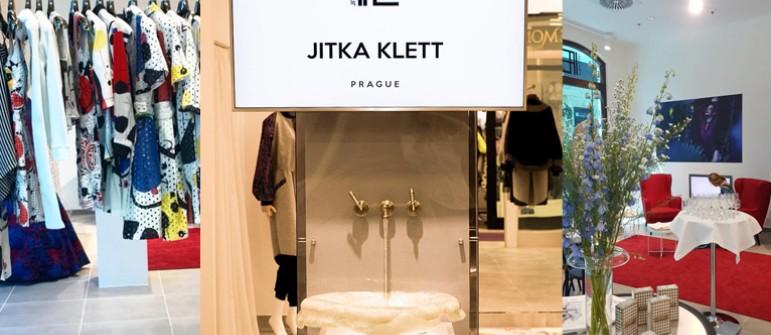 Jitka Klett pop-up store. Inspirace pro pronájem obchodních prostor.