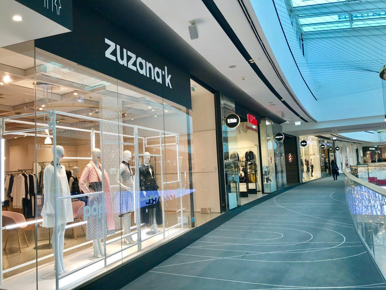 Pop Up shop by Zuzana Kubíčková, obchodní centrum Chodov