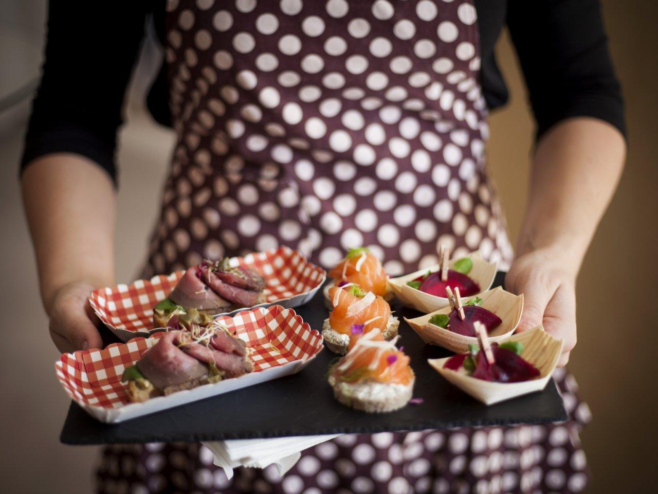 Hravé občerstvení na míru od MUSA Catering