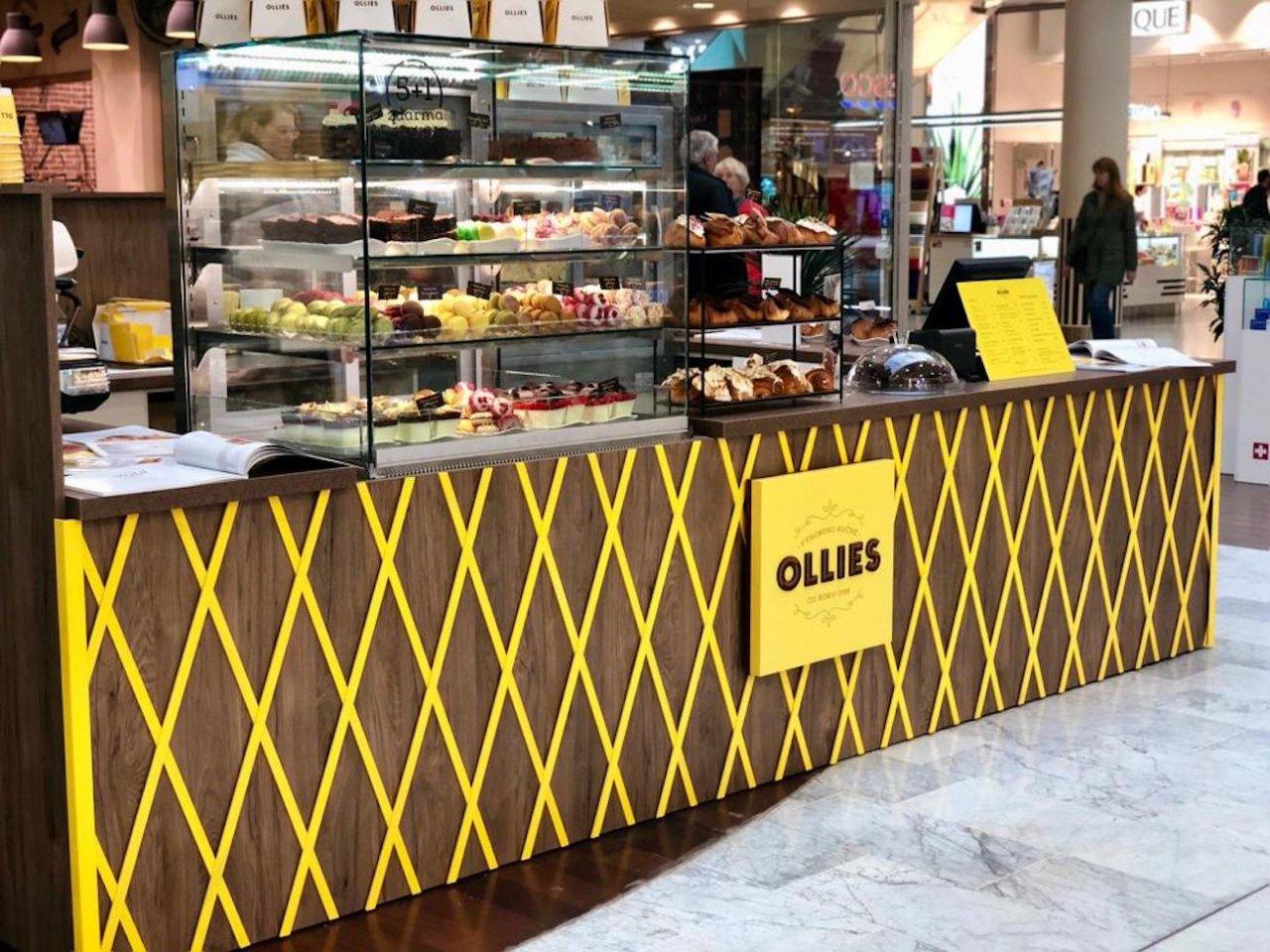 Cukrárna Ollies v OC Nový Smíchov