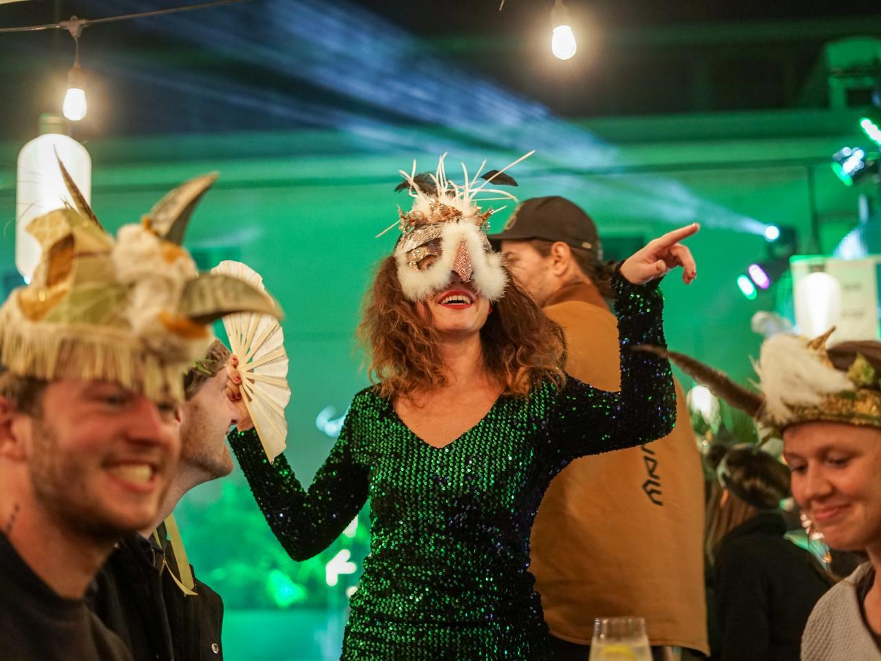 Don Papa uspořádali divokou party v prostoru Manifesto Smíchov