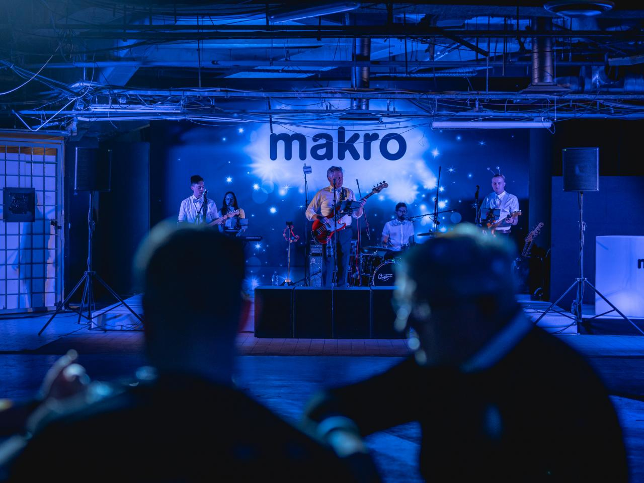 Corporate party for Makro in Kotva