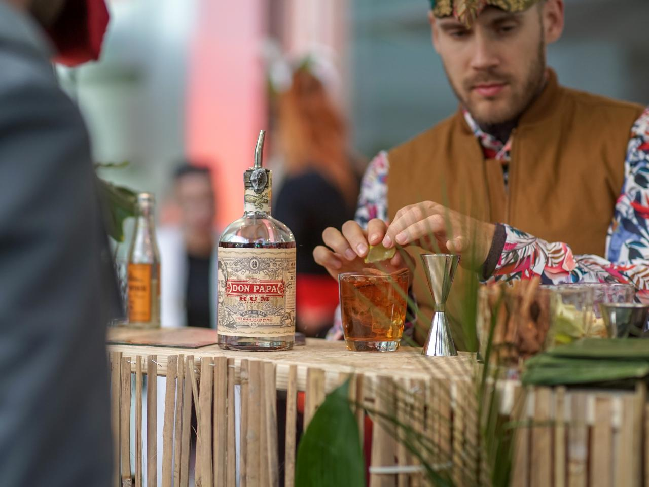 Don Papa held a wild party in Manifesto Smíchov