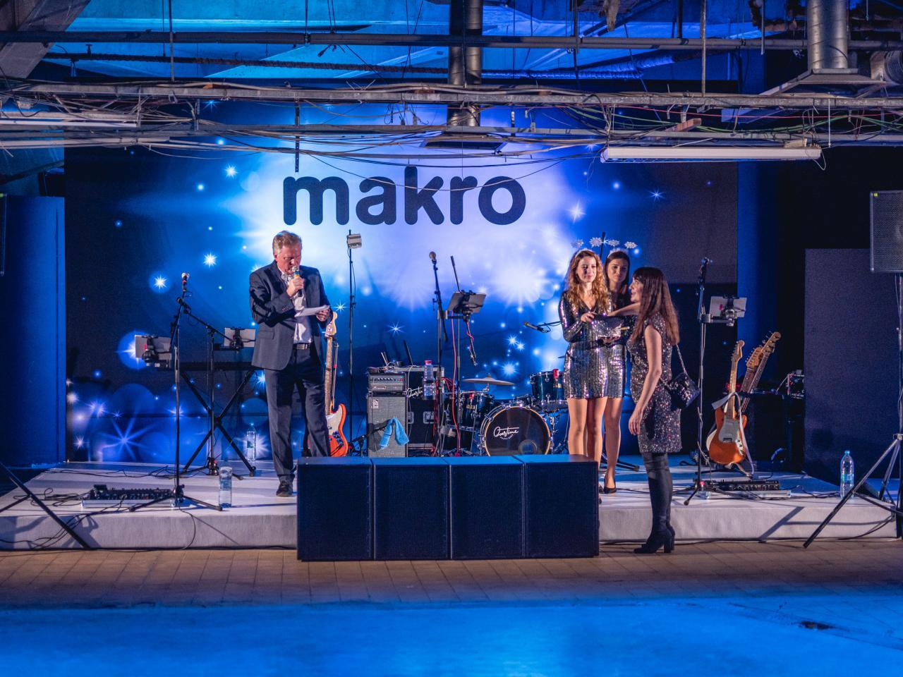 Uspořádali jsme firemní večírek pro Makro v Kotvě