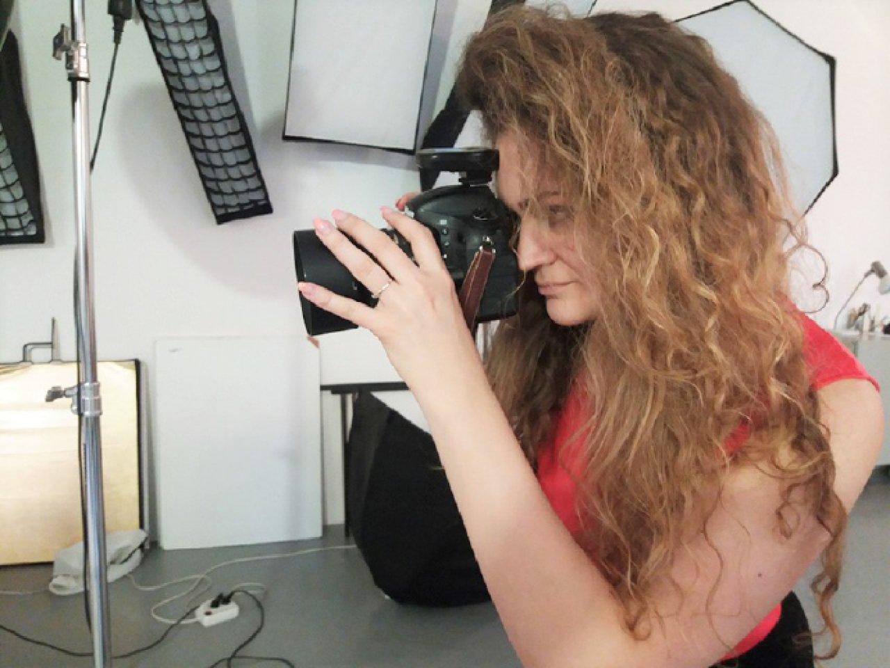 Workshop pro ženy ve fotoateliéru na Letné