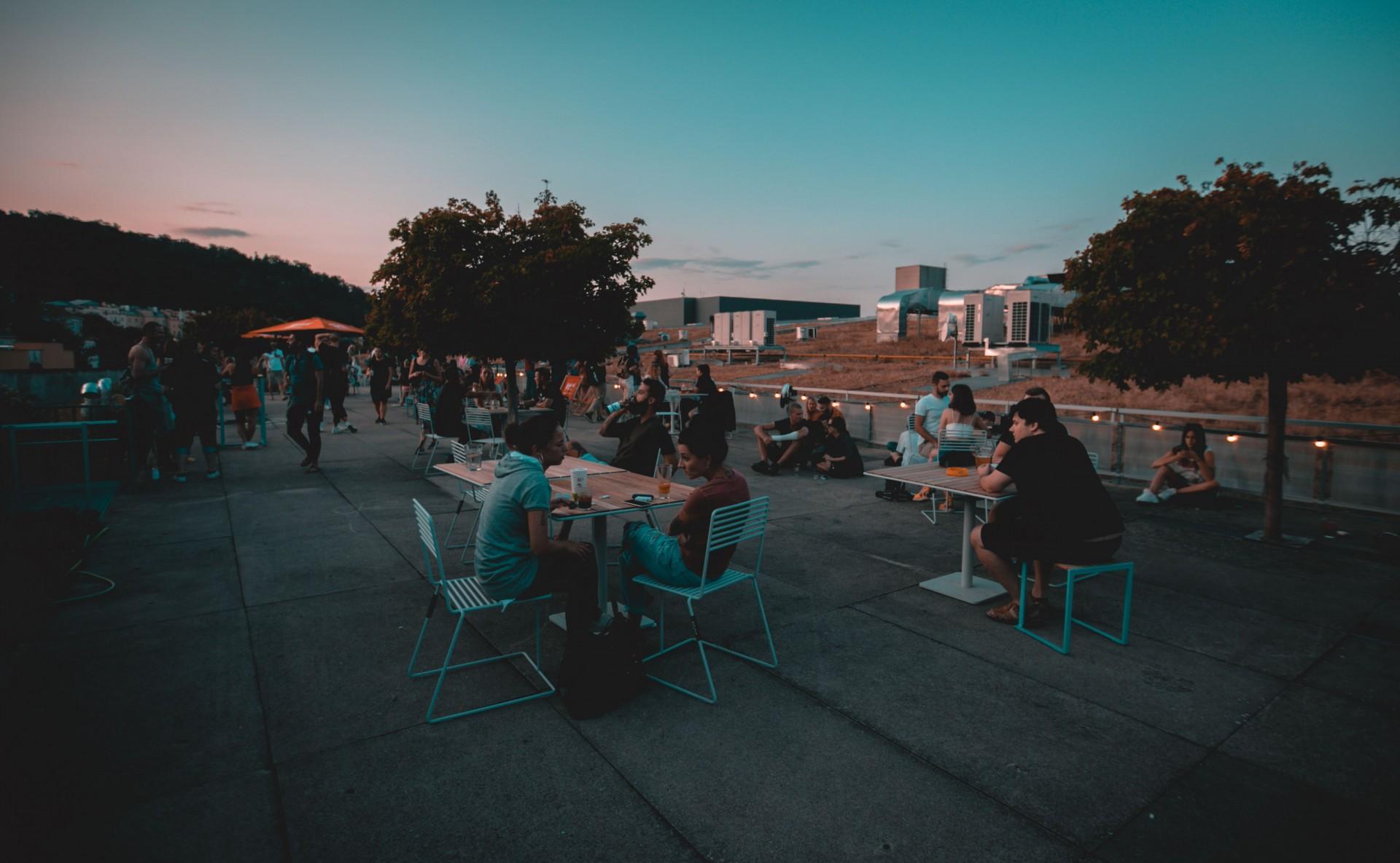 Event terrace for rent, Prague 5