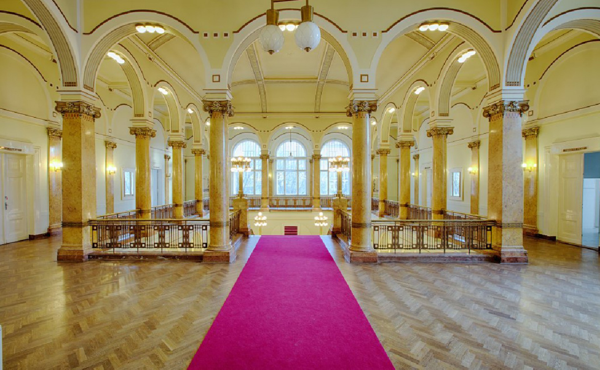 Historic space for event