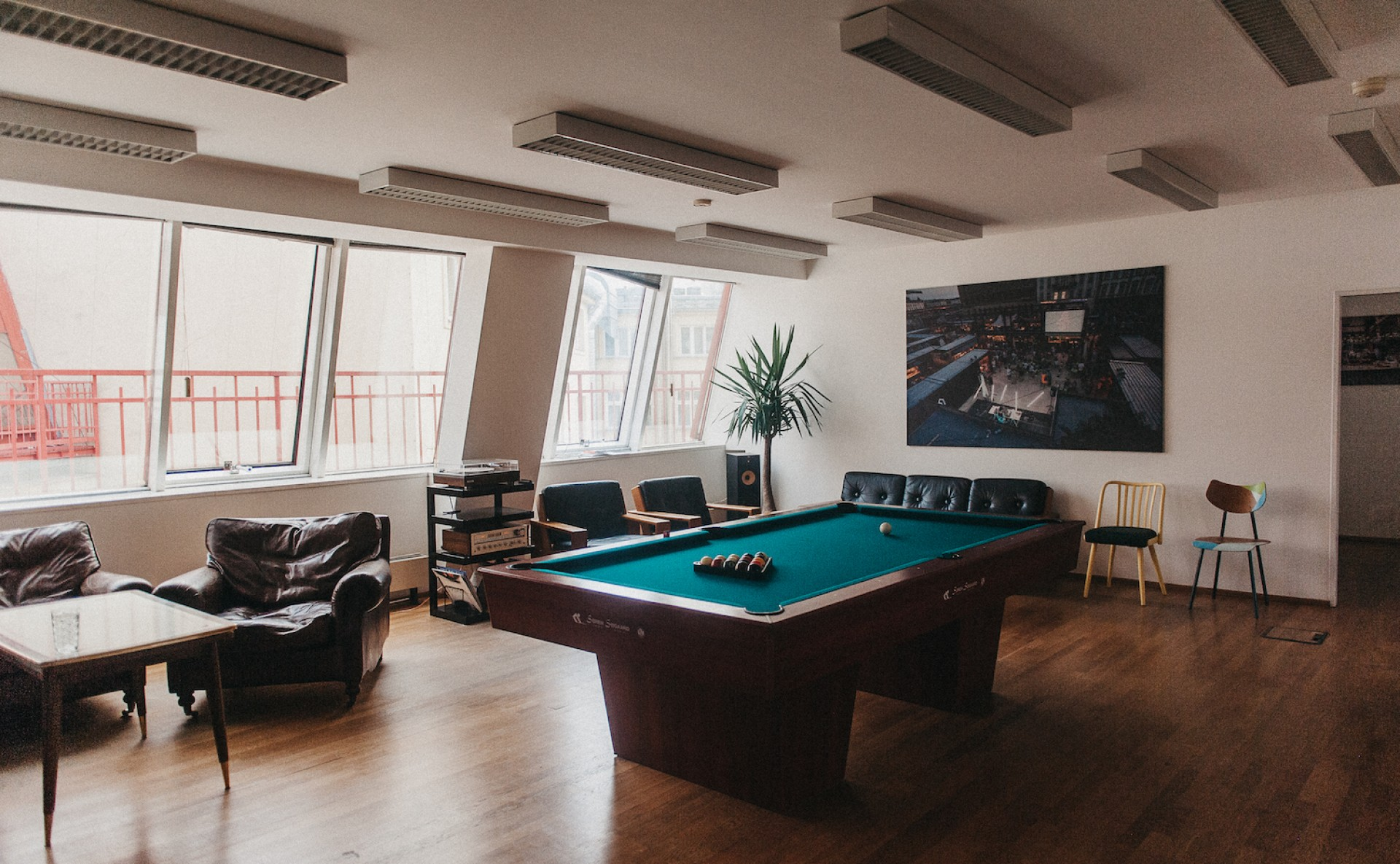 Penthouse for events