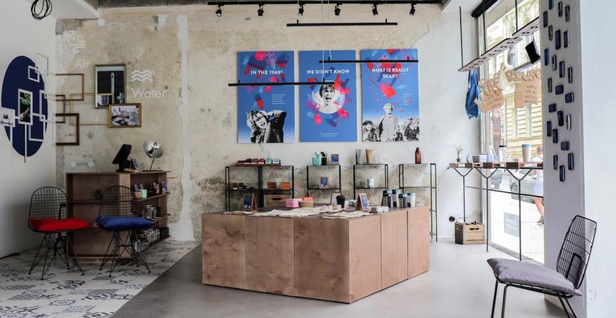 Svěží industriální prostor pro meetingy na Petrském náměstí