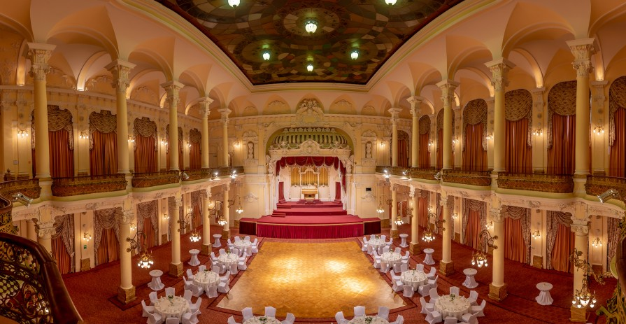 Large congress and ballroom, Karlovy Vary