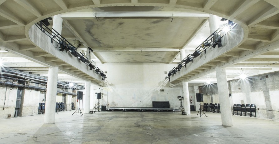Industrial conference and event space in Prague underground