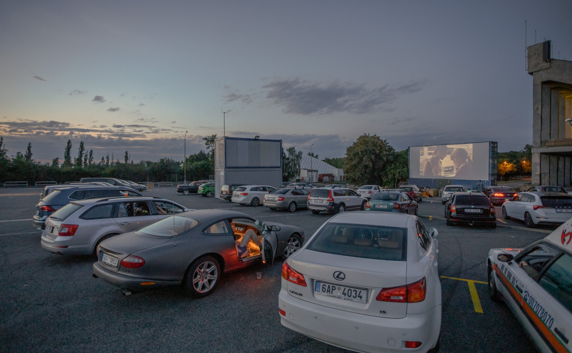 Car cinema for events