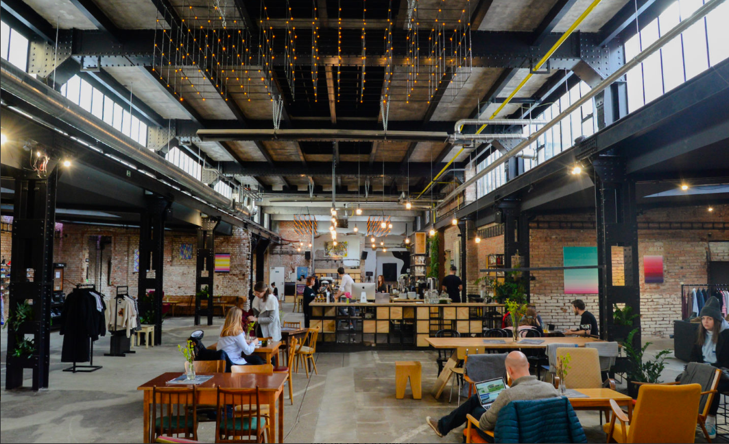Industrial spaces for rent