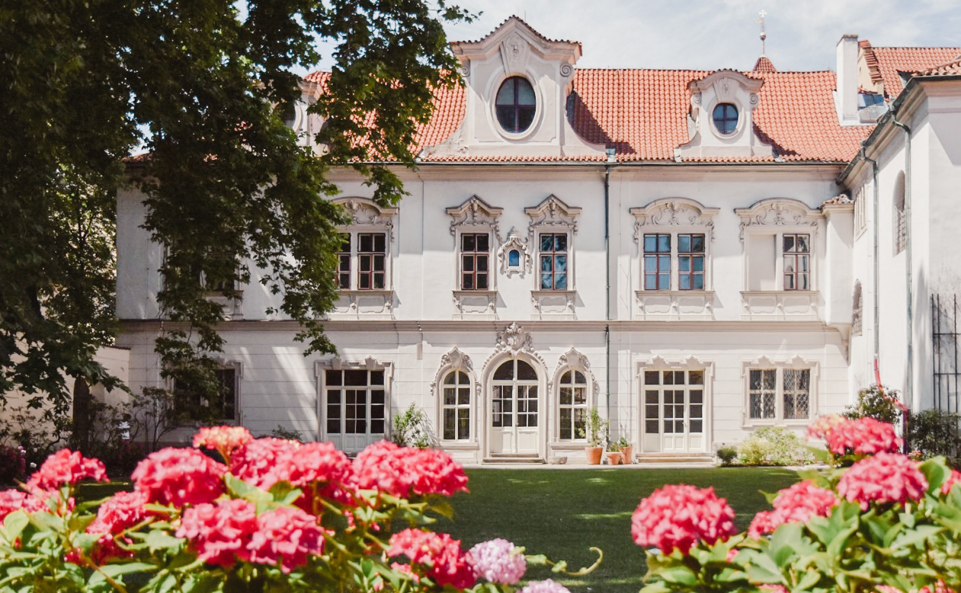 Zahrada k pronájmu Praha 1