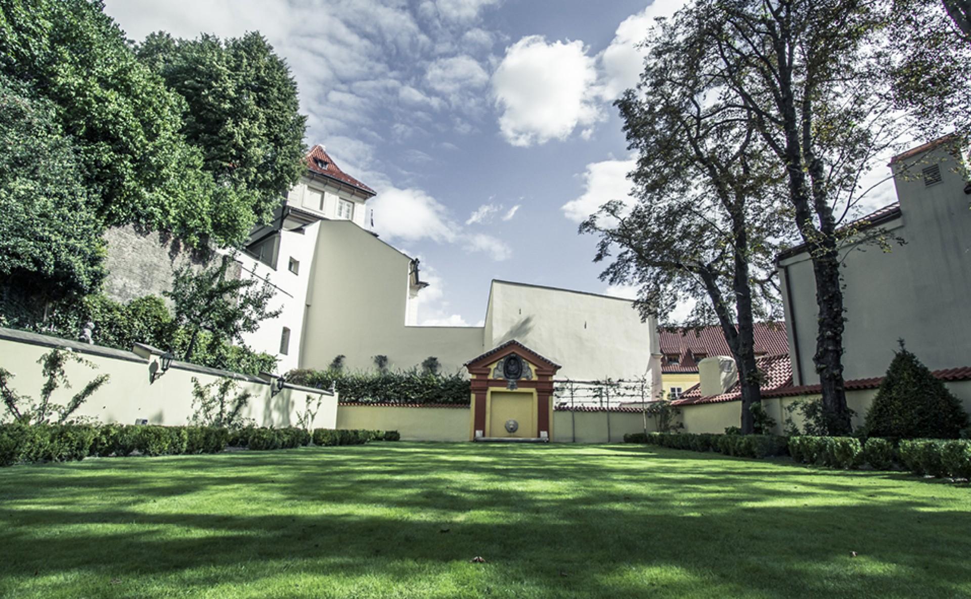 Pronájem zahrady Praha 1
