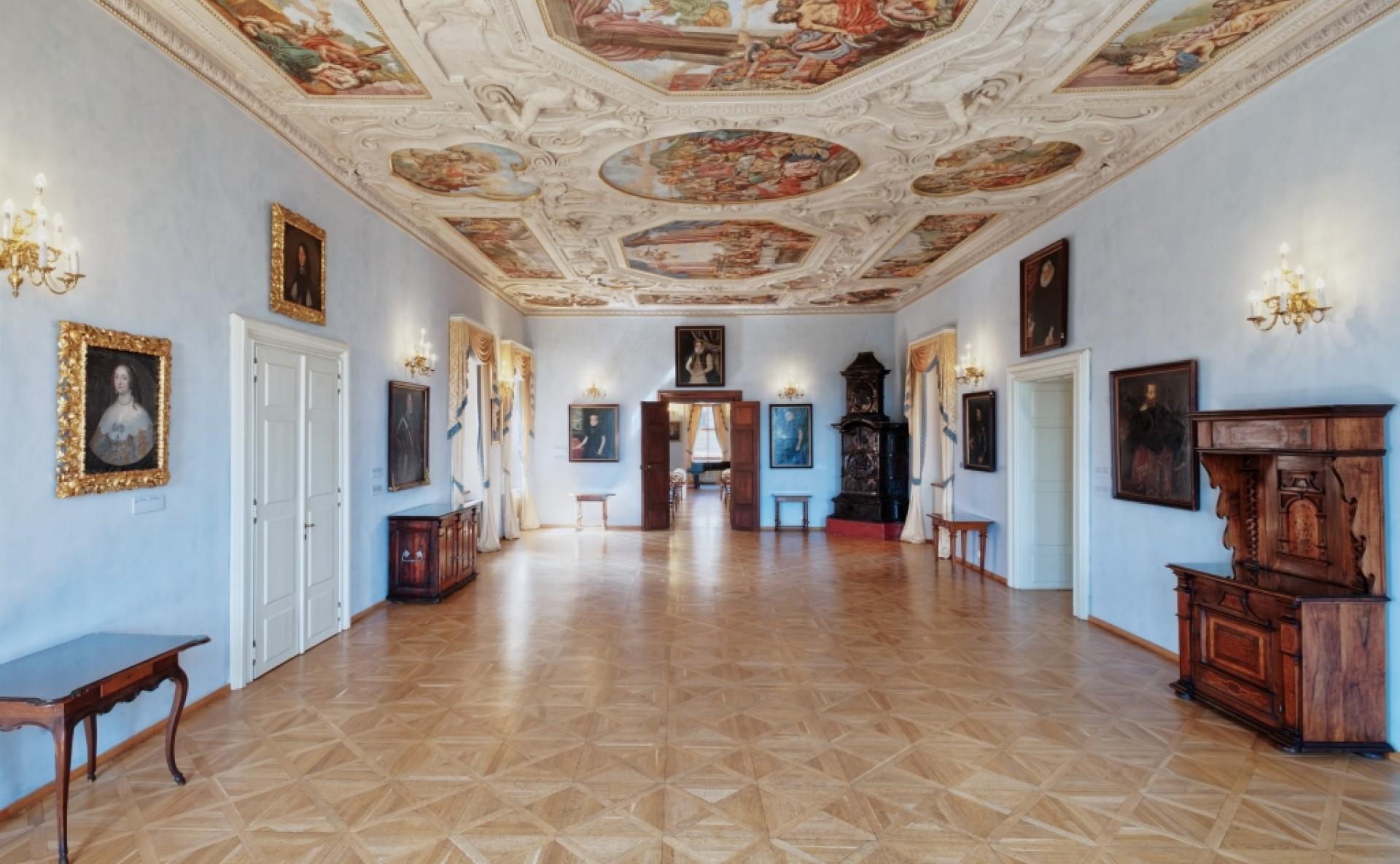 Pronájem historického sálu