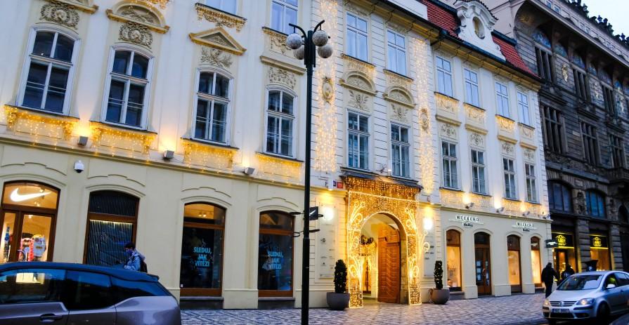 Residential office in Slovanský dům