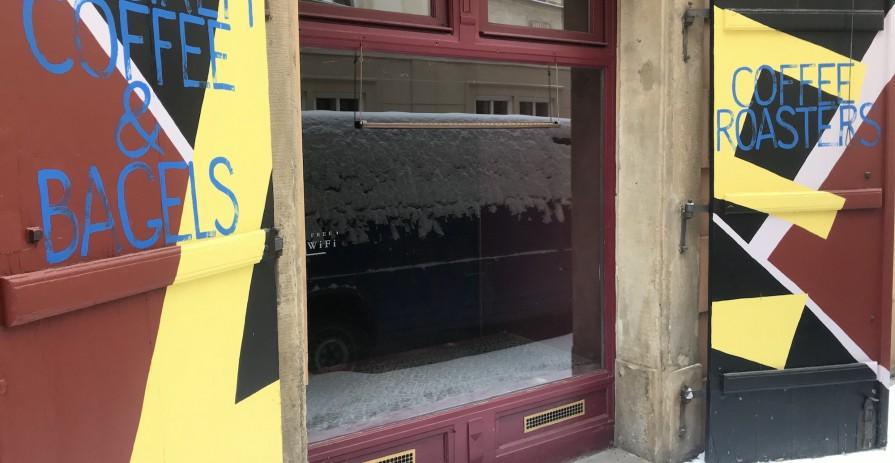 Nebytový prostoru pro kavárnu v centru, ulice Řetězová