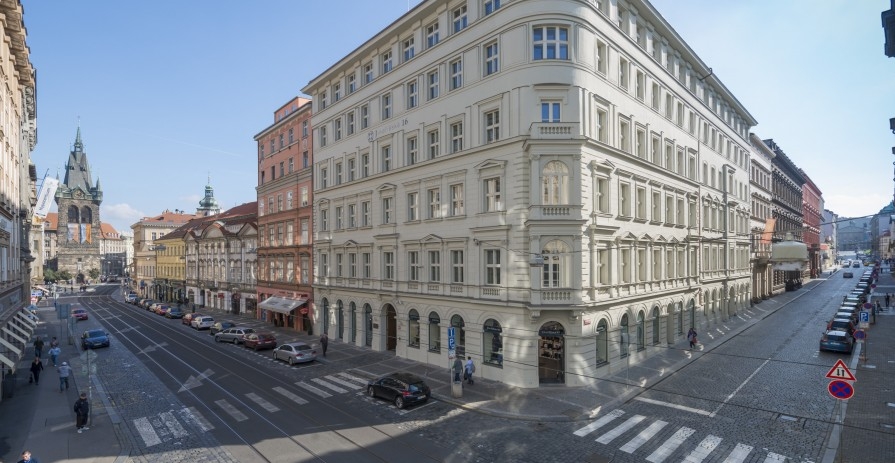 Office space in the center of Prague, Jindřišská street - 190 m2 to 320 m2