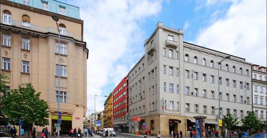 Economical office space, Václavské náměstí