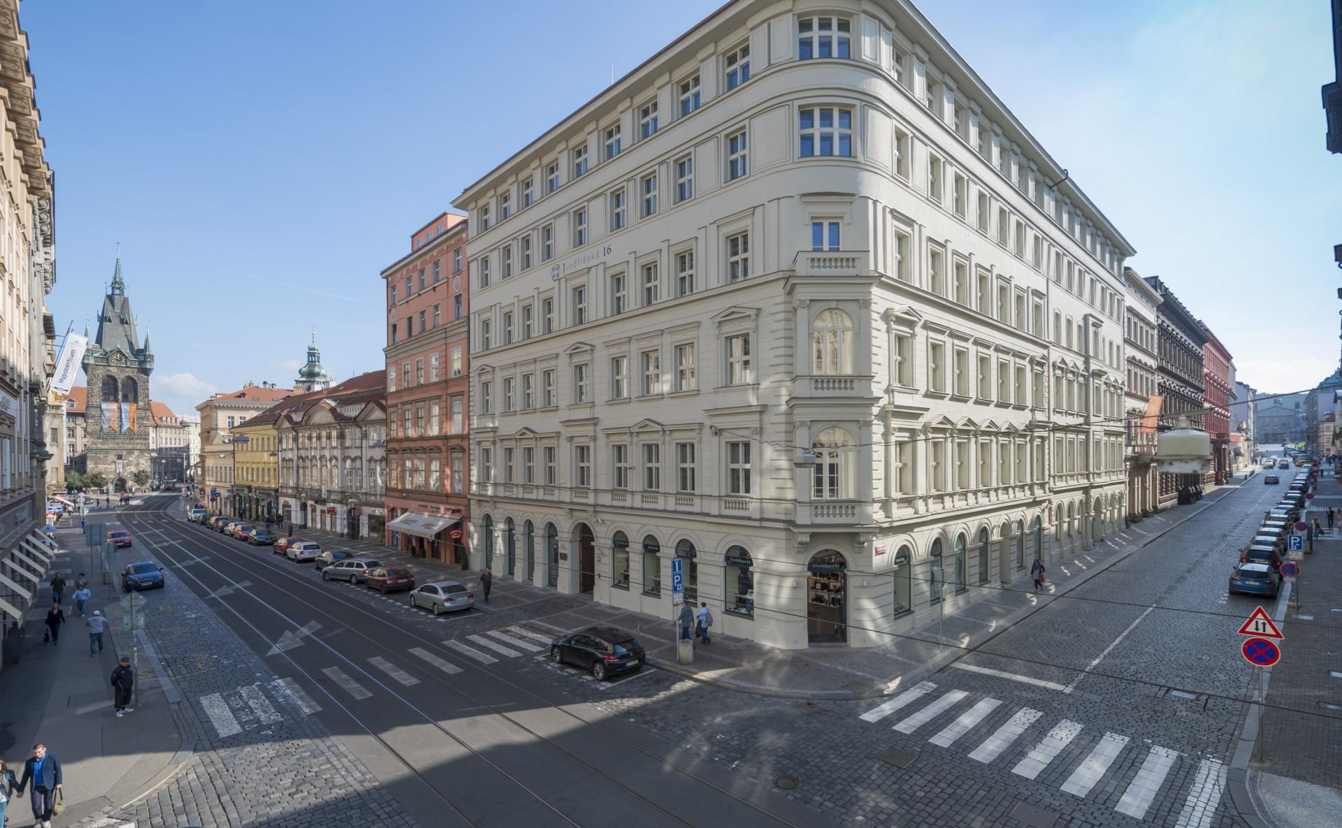 Offices for rent Jindřišská 16