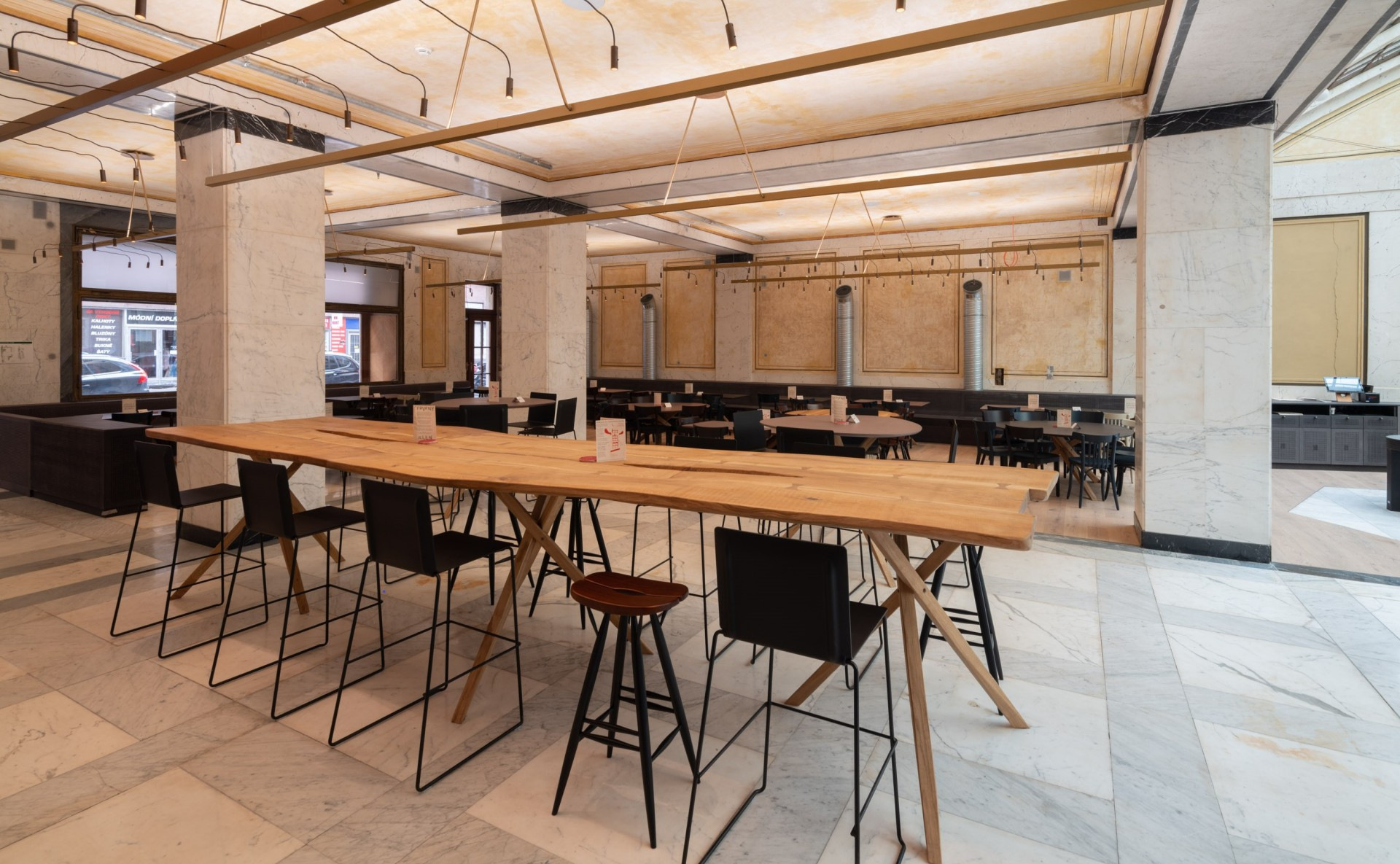 Industrial space for events Prague 1