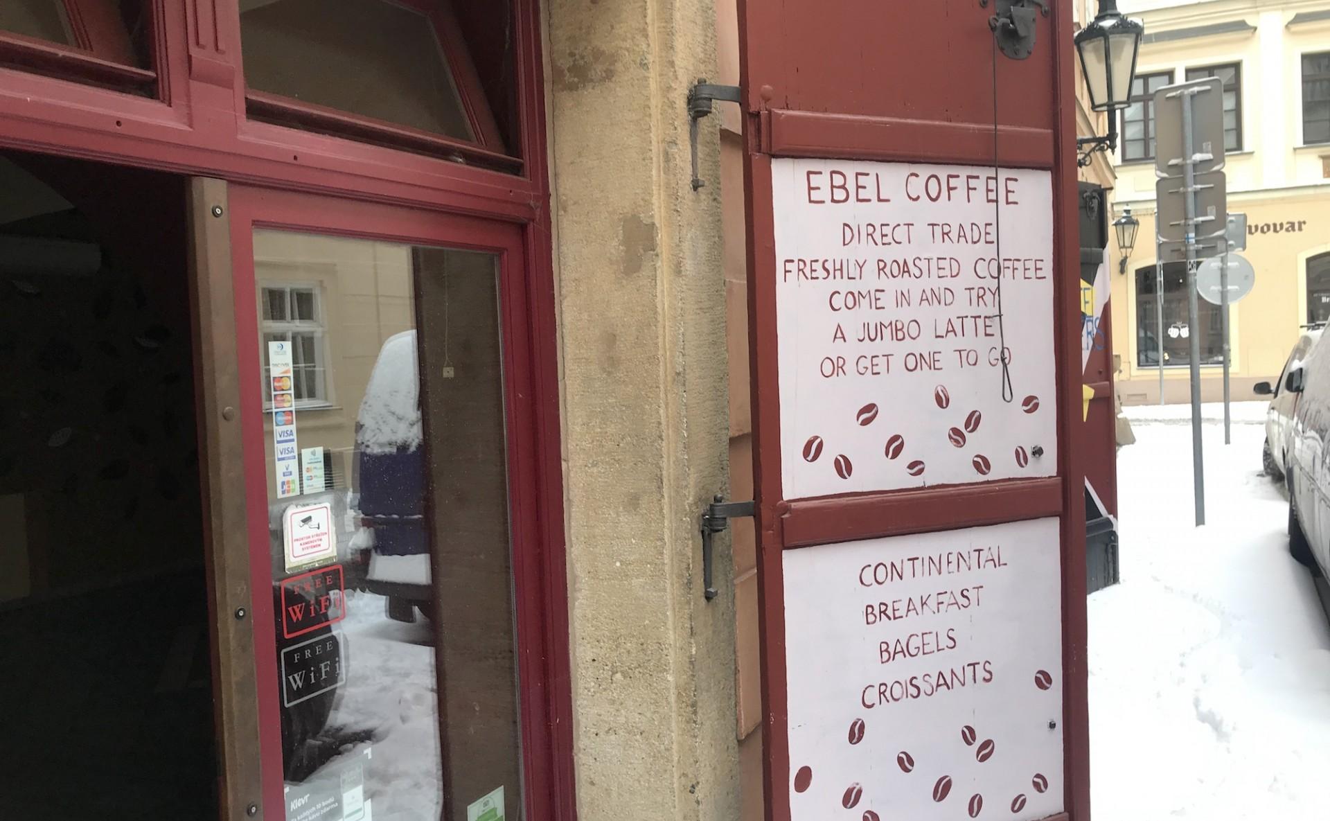 Kavárna k pronájmu