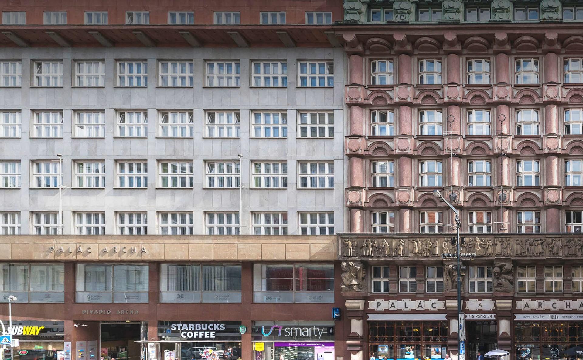 Pronájem kanceláří Praha 1 Na Poříčí