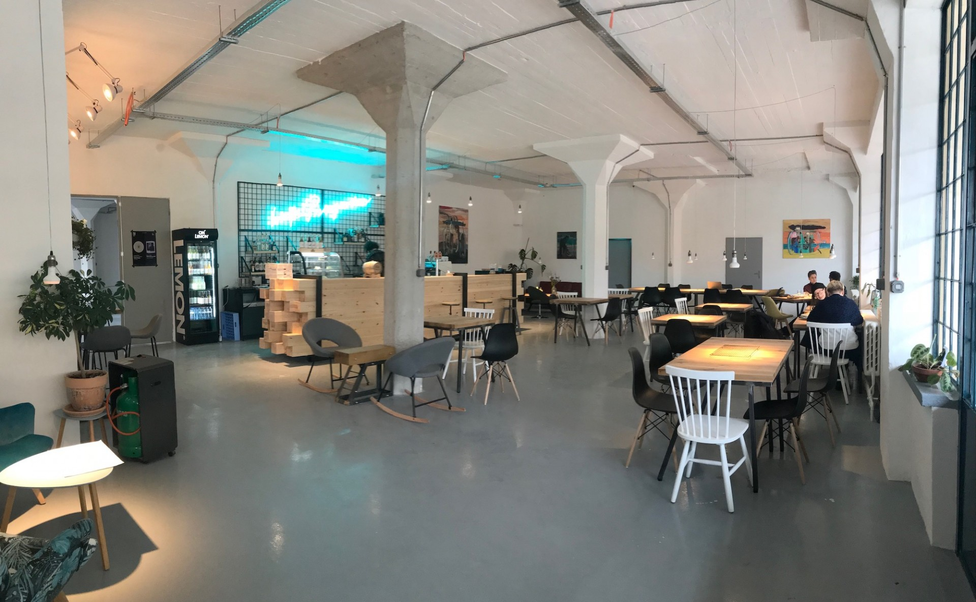 Industrial space for events