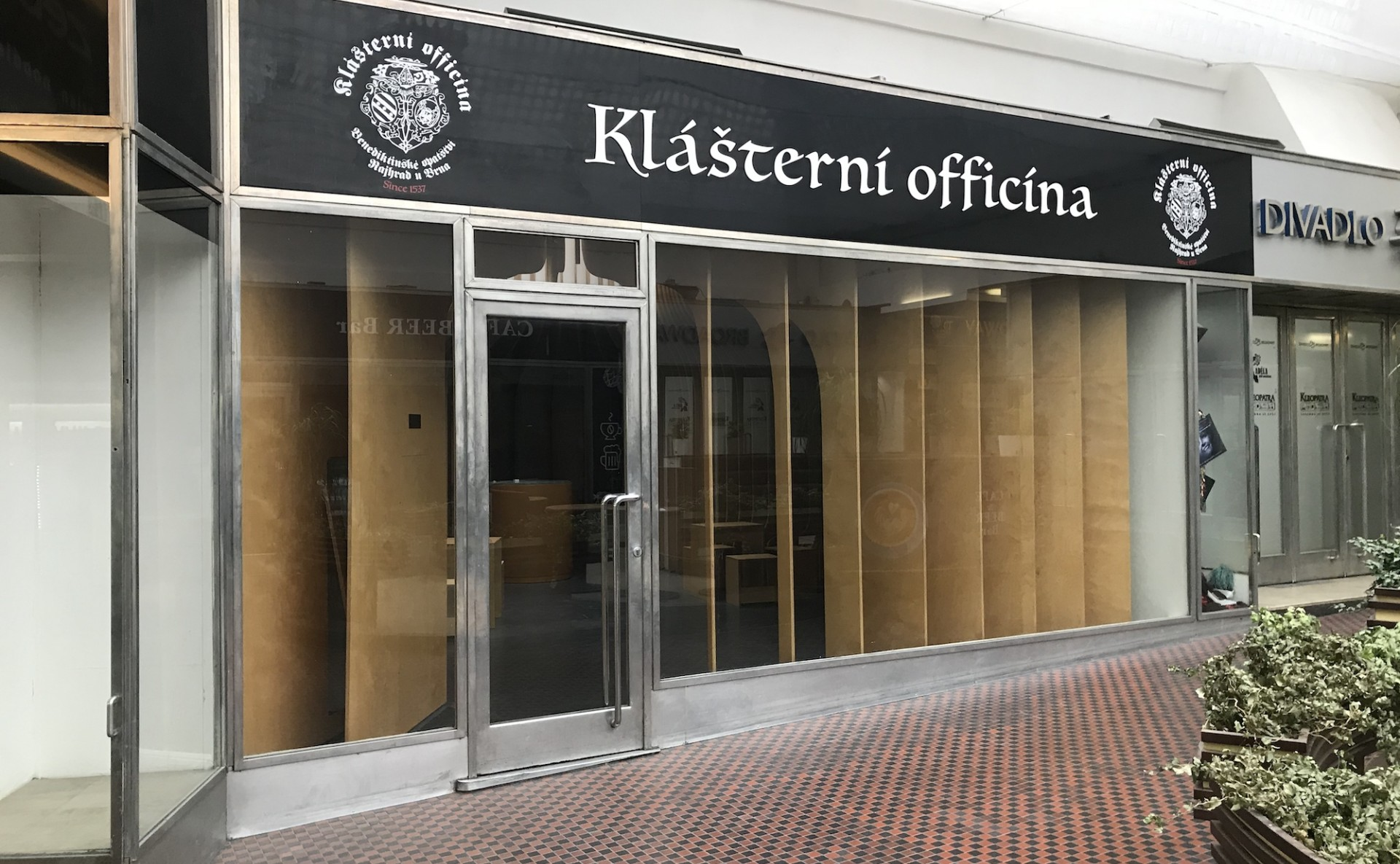 Shop for rent Prague 1 Na Příkopě