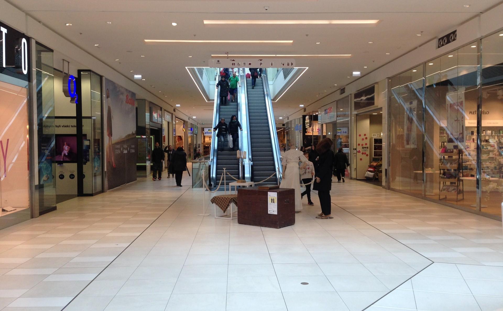Shopping center Kladno