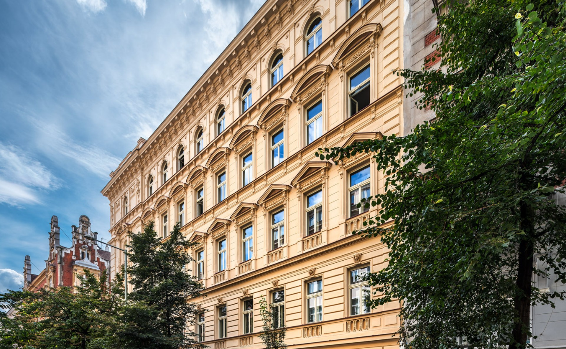 Pronájem kanceláří Praha 2
