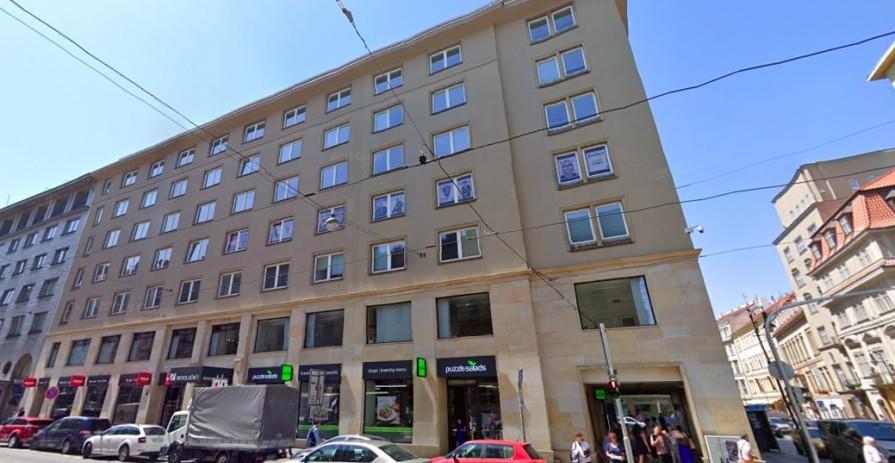 Office space on the corner of Dlouhá and Revoluční