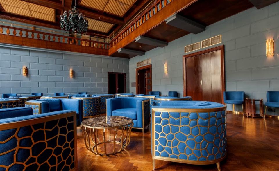 Luxusní prostory na konference a večírky ve stylu Art Decó