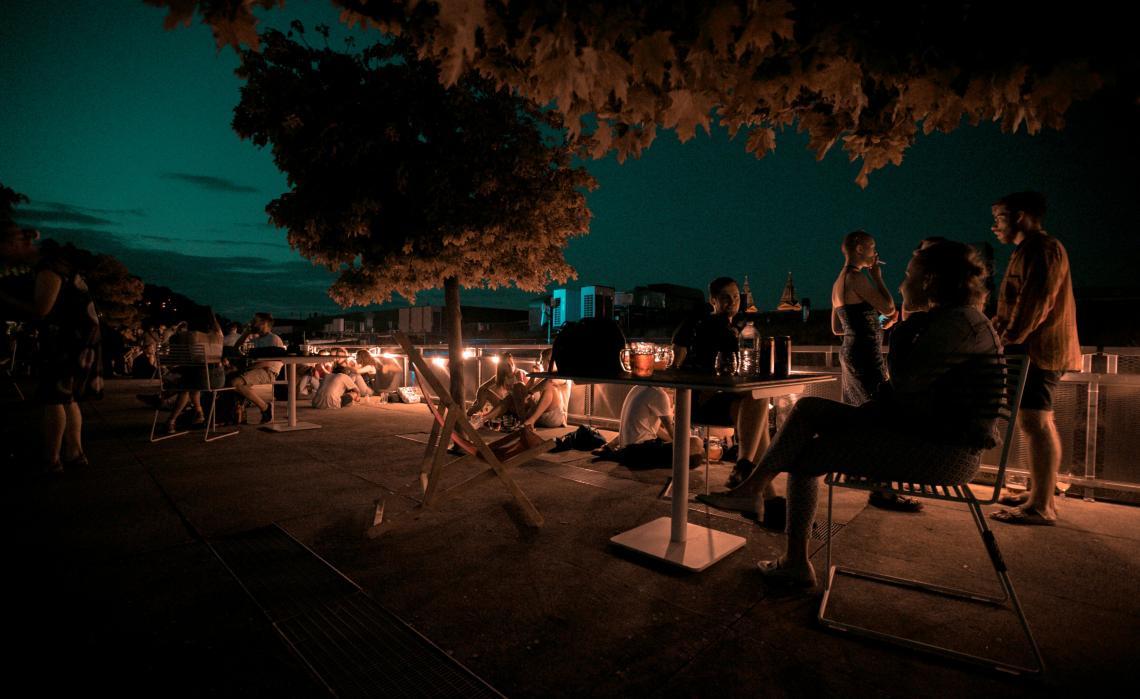 Unikátní prostor na střeše OC Nový Smíchov