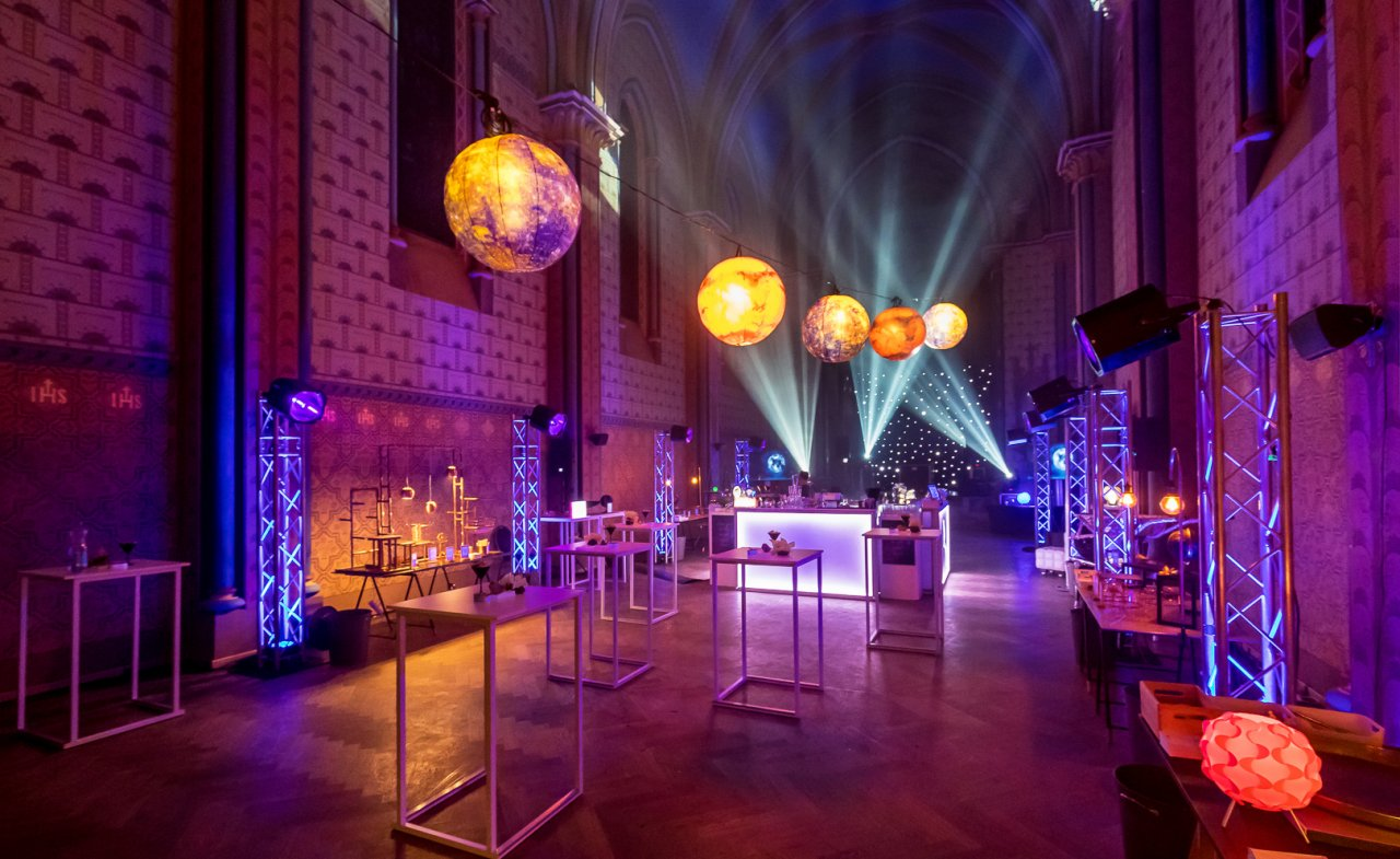 Spectacular church space for evening events, Prague 5