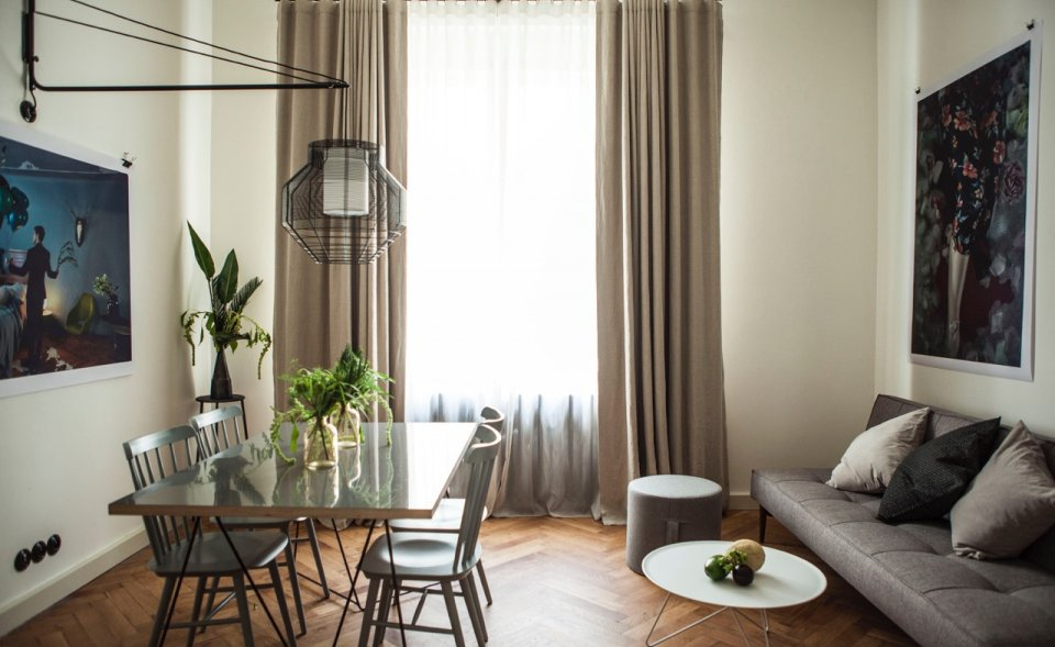 Stylish apartments for shooting