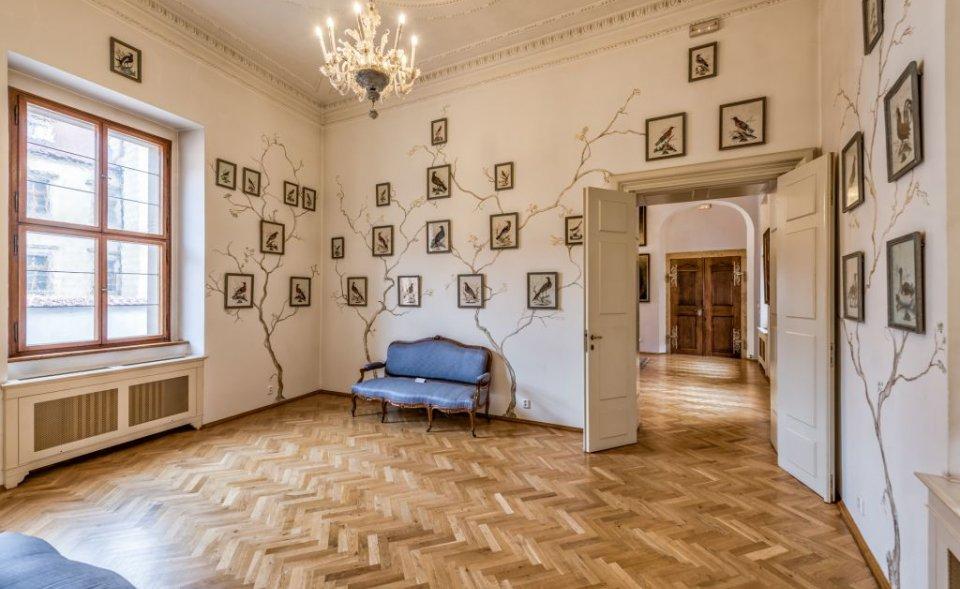 Historické prostory v areálu Pražského hradu