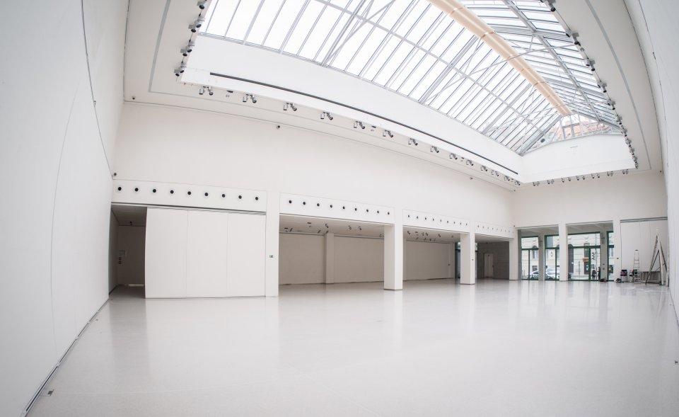 Světlé výstavní a konferenční prostory