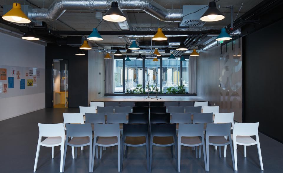 Eventový prostor v coworkingu v centru města