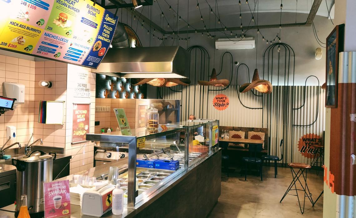 Prostor pro bistro / restauraci na Újezdě, Vítězná ulice