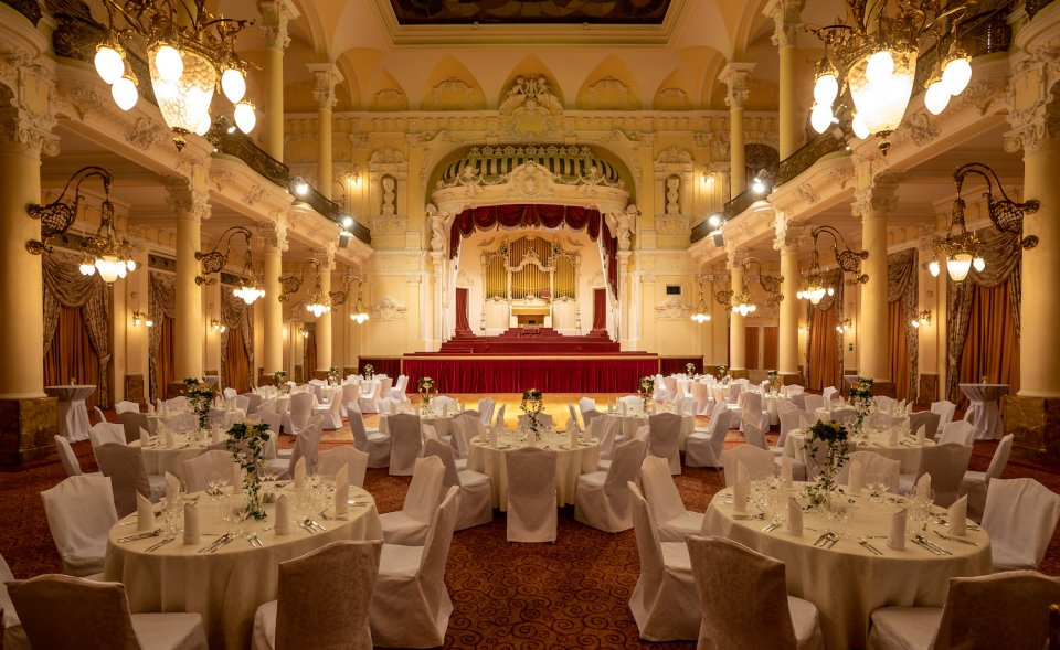 Grandhotel Pupp - large congress and ballroom, Karlovy Vary