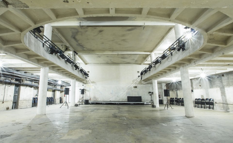 Extraordinary industrial conference and event space in Prague underground, Prague 1